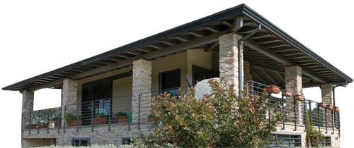 Casa in Legno Bautiz