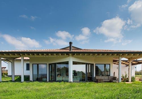 Casa in Legno Manziana